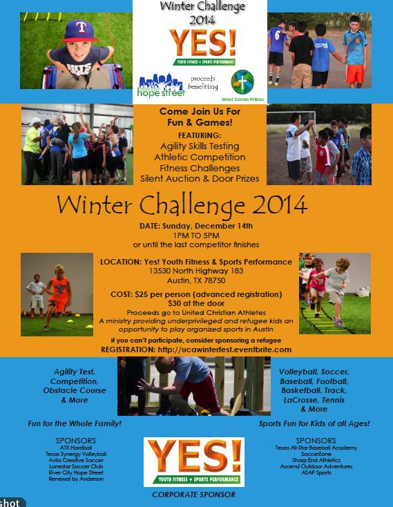 UCA Winter Challenge 2014