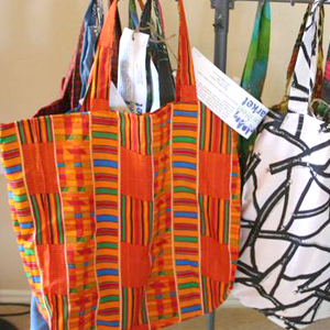 Hope Street Market (HSM) markets and sells quality, up-cycled products handmade by local refugees.