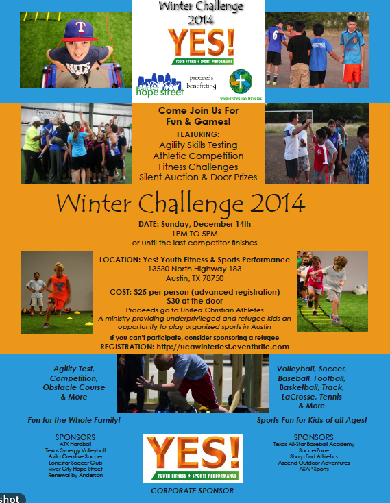 UCA Winter Challenge 2014